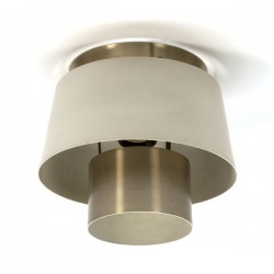 Philips plafondlamp koper/ cr