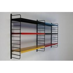 Metal wall rack no. 16