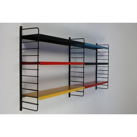 Metal wall rack no. 16