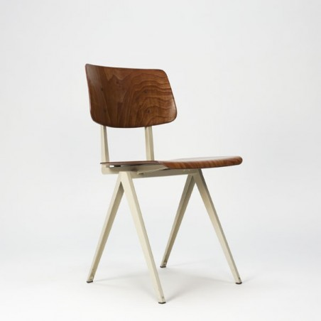 Industial chair white