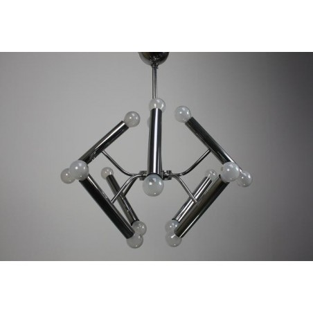 Chrome hanging lamp 1