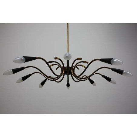 Grote 1950's hanglamp