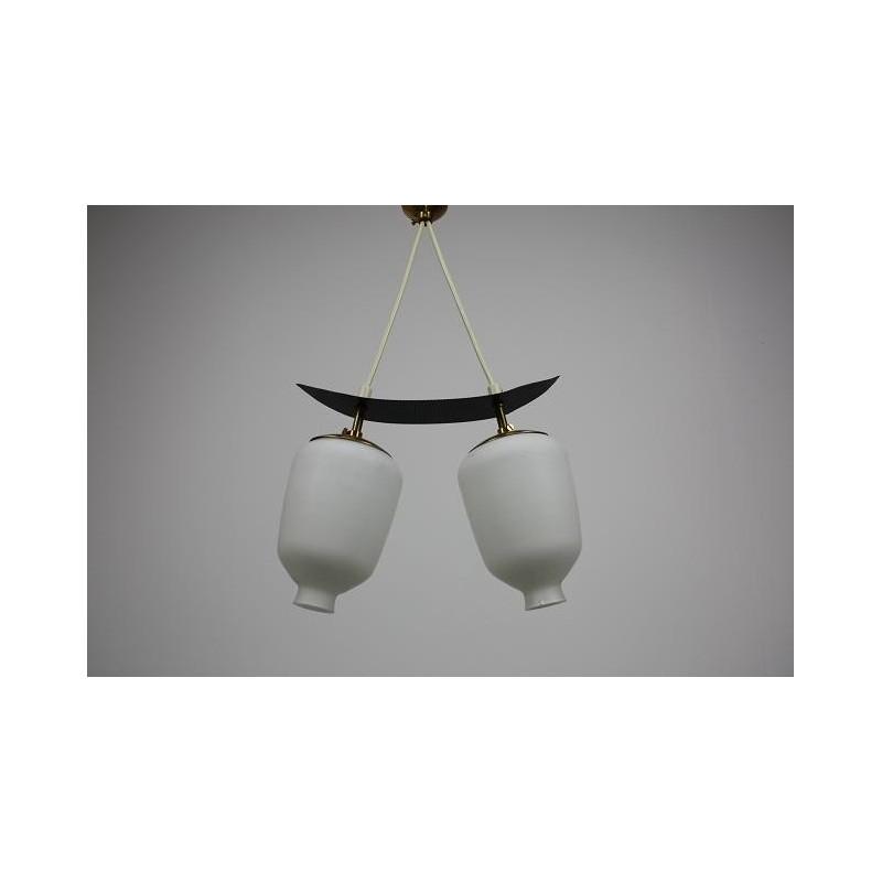 Hanglamp 1950's in Mategot stijl