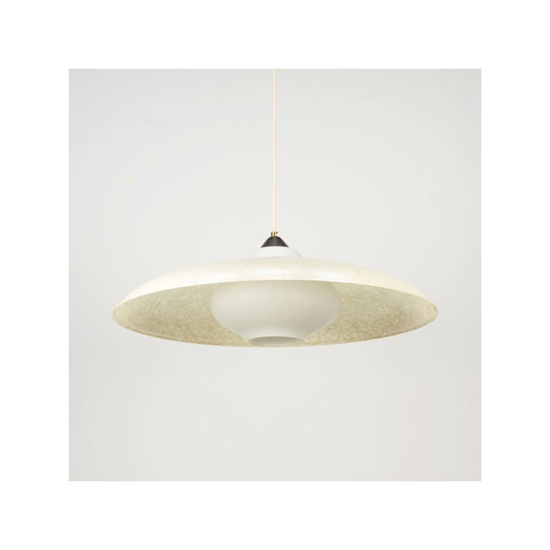 Philips pendant with fiberglass shade