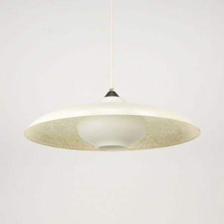 Philips pendant with fiberglass shade