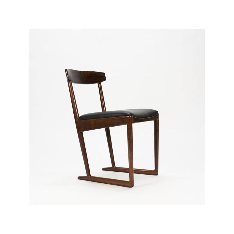 Palissander houten stoel