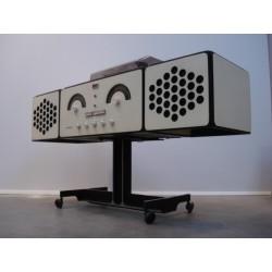 Vintage radio en platenspeler Brionvega RR126
