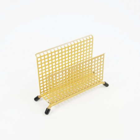 Mail holder yellow perforated