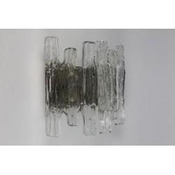 "Glass wall lamp ""Ice"""