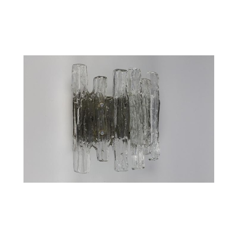 "Glass wall lamp ""Ice"""