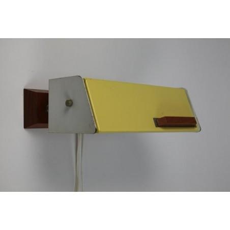 Wall lamp 1950's yellow
