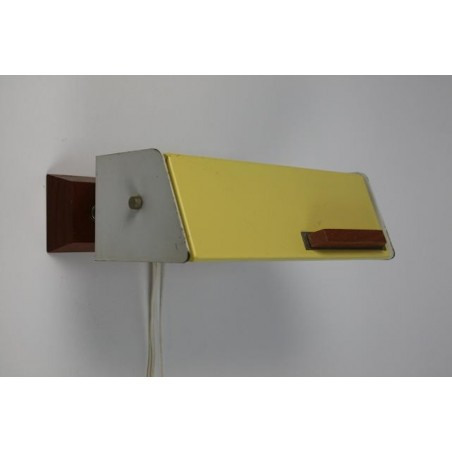 Wandlamp 1950's geel