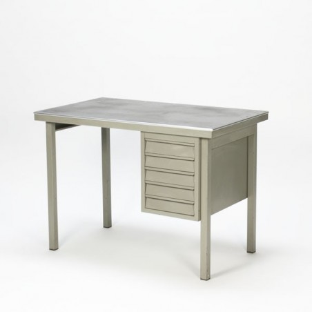 Industial desk grey