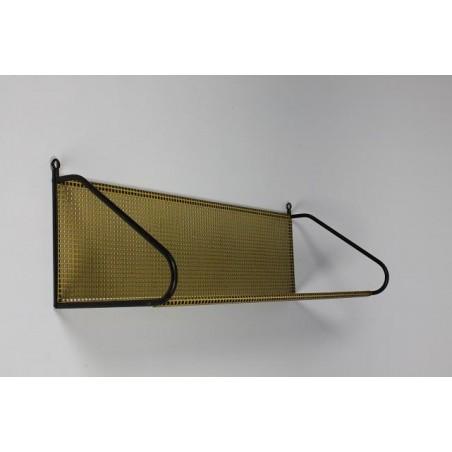 Metal wall rack Mategot style yellow