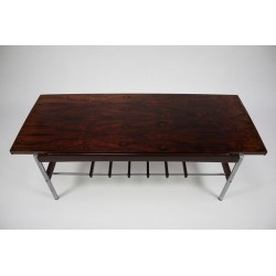 Lacqued wooden coffee table