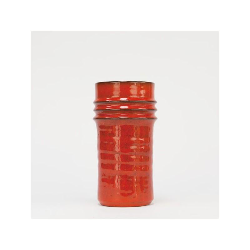 Ravelli vase orange vintage design