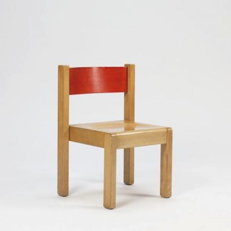 Wooden children chair no 2