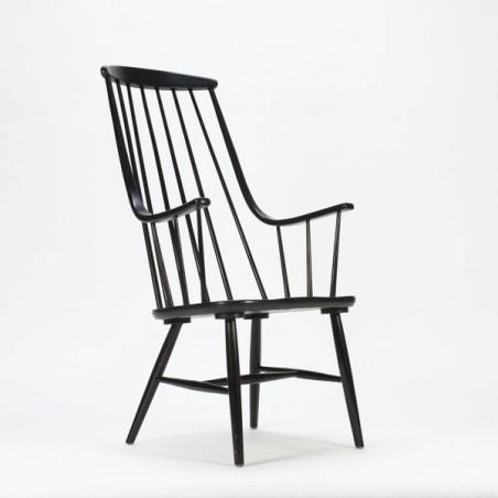 Wooden armchair Tapiovaara style