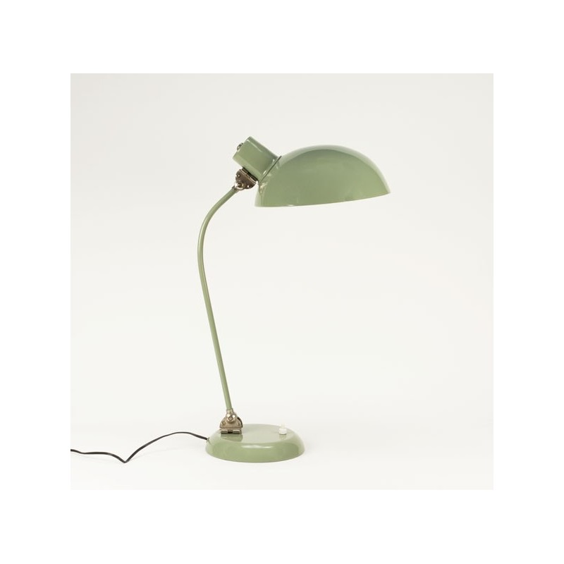 Table or desk lamp green