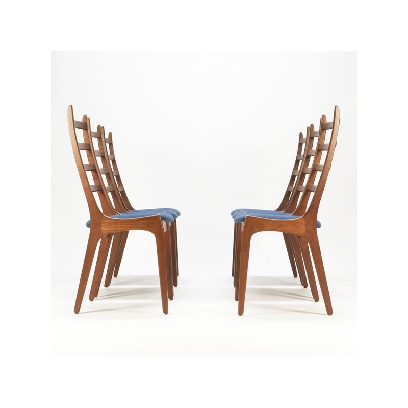 Set of 6 Danish dining chairs