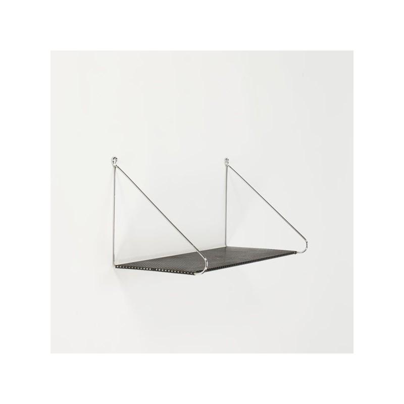 Book shelf perforated metal