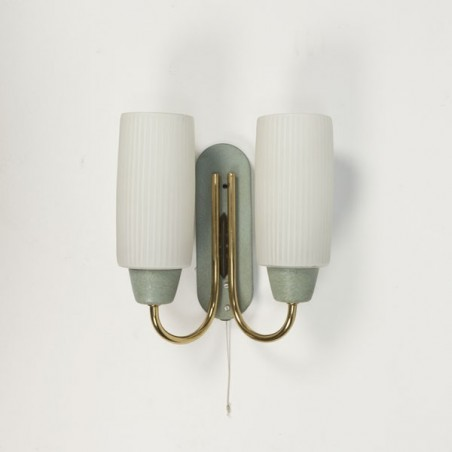 Wall lamp with glass 1950's