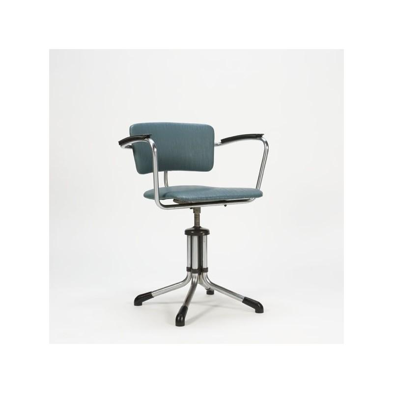 Gispen desk chair blue