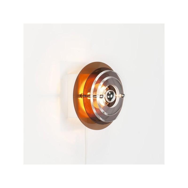 Plexiglazen wandlamp jaren 70 nr. 3