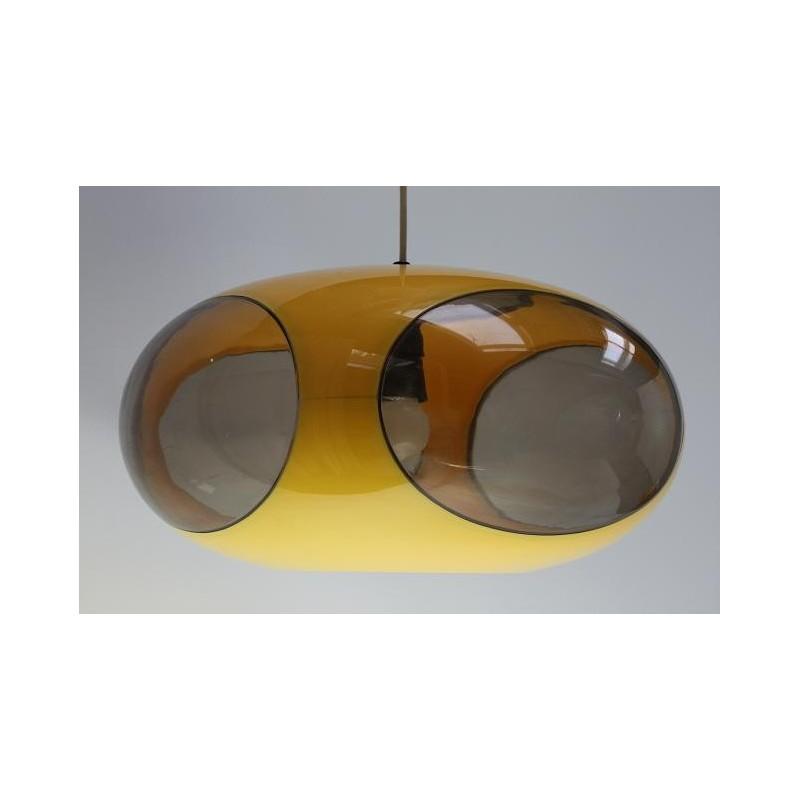 Luigi Colani lamp yellow