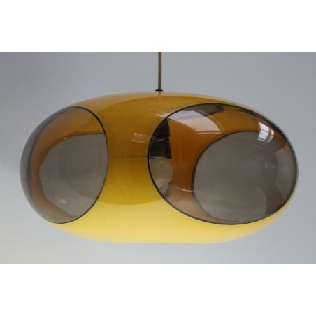 Luigi Colani lamp yellow