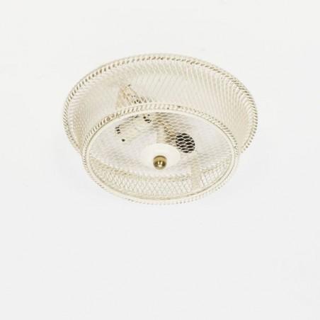 Metal ceiling lamp 1950's