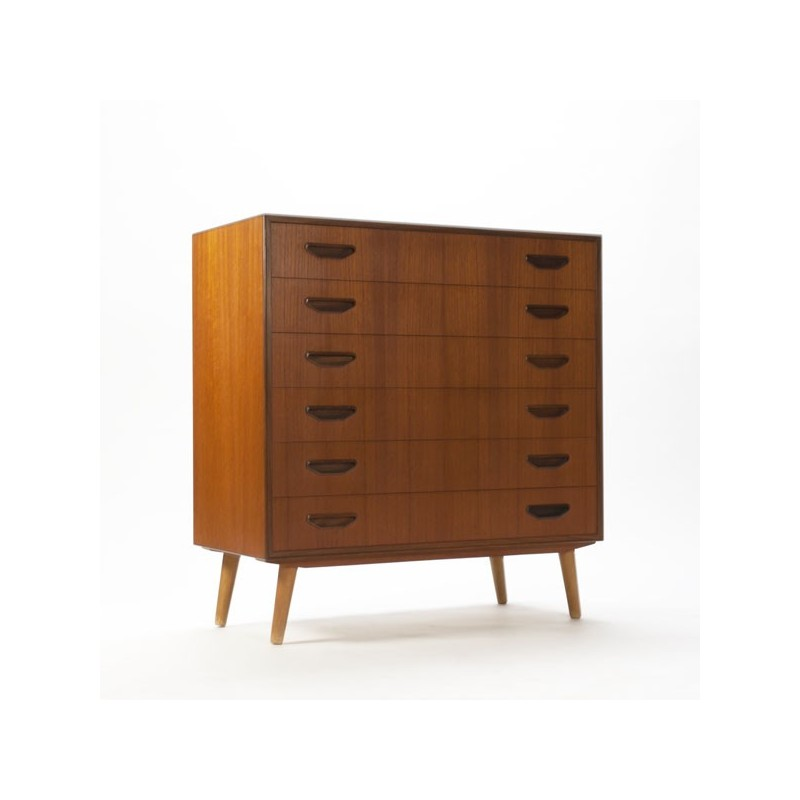 Luxury chest of drawers in teak no.2