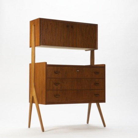 Danish cabinet/ dressing table 1960's