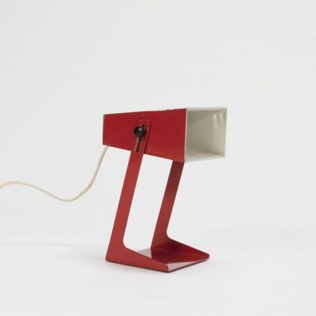 Rode tafellamp