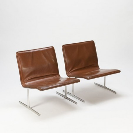 "Chauffeuse ""602"" by Dieter Rams set of 2"
