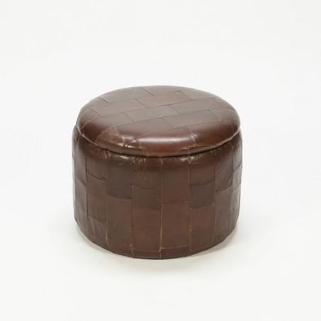 Leather stool no.2