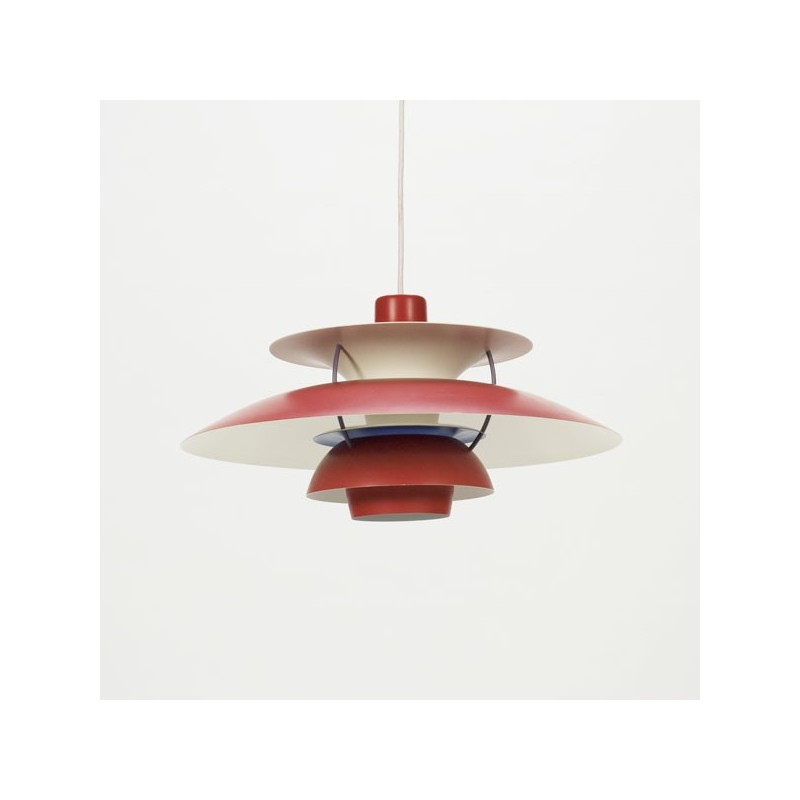 PH 5 by Poul Henningsen red