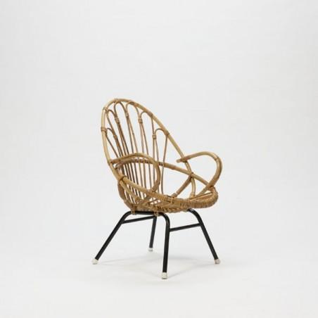 Rotan Stoeltje Voor Kinderen.Rotan Kinderstoel Retro Studio