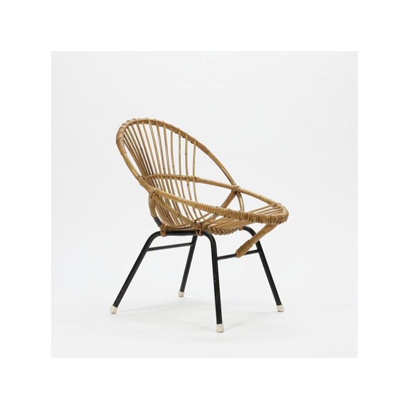 Rotan zitstoel nr.2