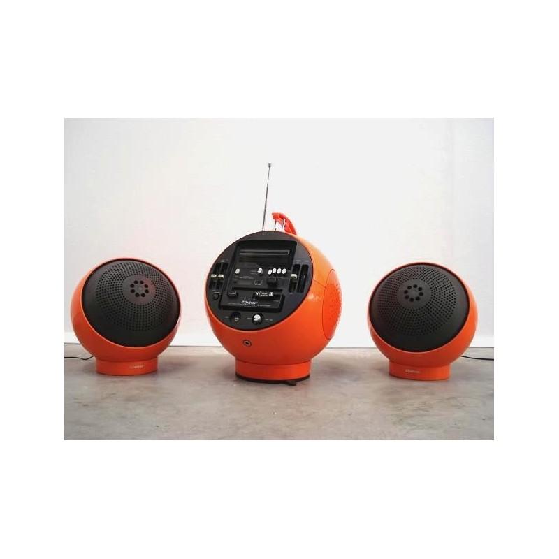 Weltron orange incl. 2 speakers