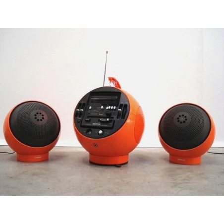 Weltron oranje incl. 2 speakers