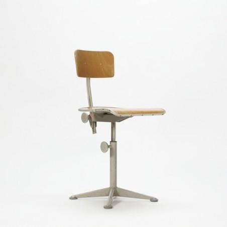 Friso Kramer tekentafel/ architectenstoel verstelbaar