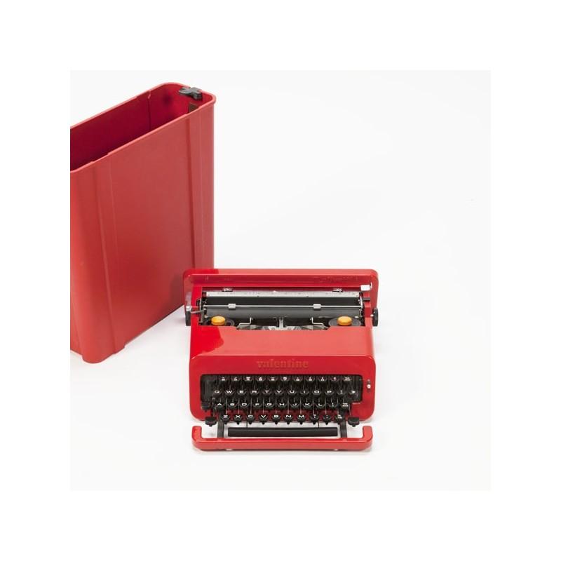 Olivetti Valentine red