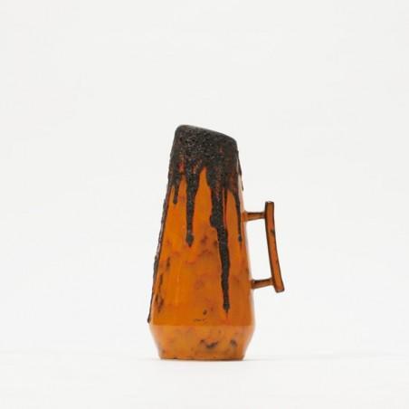 West-Germany vase Lava/orange