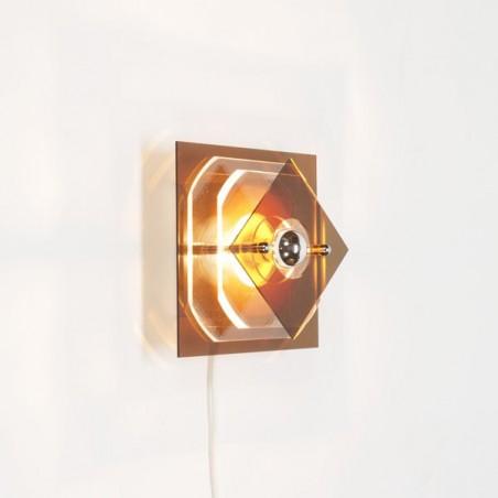 Plexiglass wall lamp 1970 no 2
