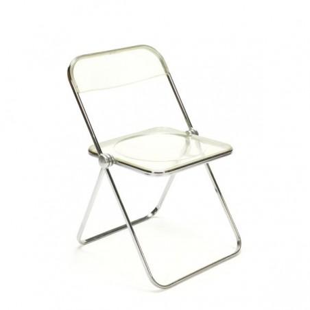 Vintage Plia klapstoel ontwerp Giancarlo Piretti