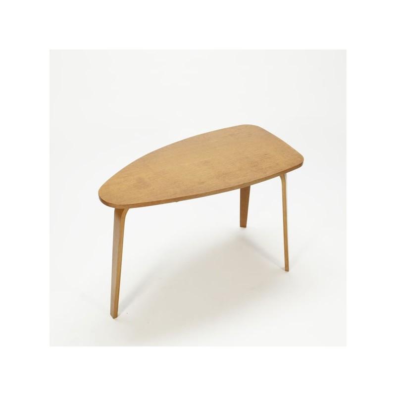 Plywood salon-/bijzettafel