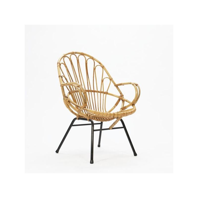 Rotan zitstoel