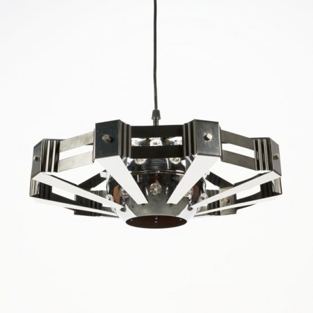 Chrome space hangling lamp