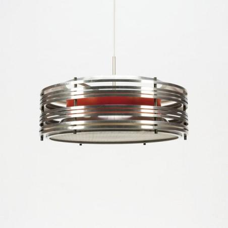 Aluminium schijven hanglamp
